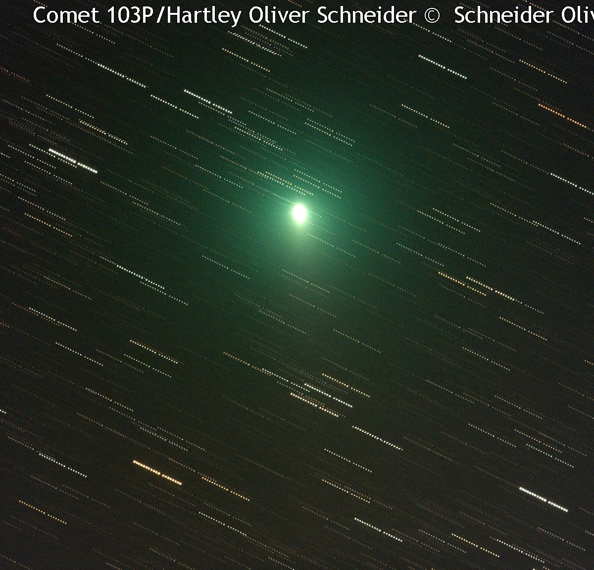 Solar System-Comet 103P/Hartley © image-owner(s)