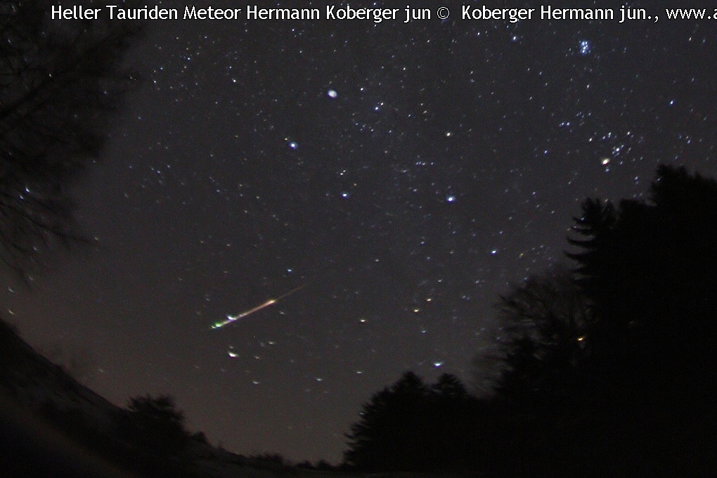 Solar System-Tauriden Meteor © image-owner(s)