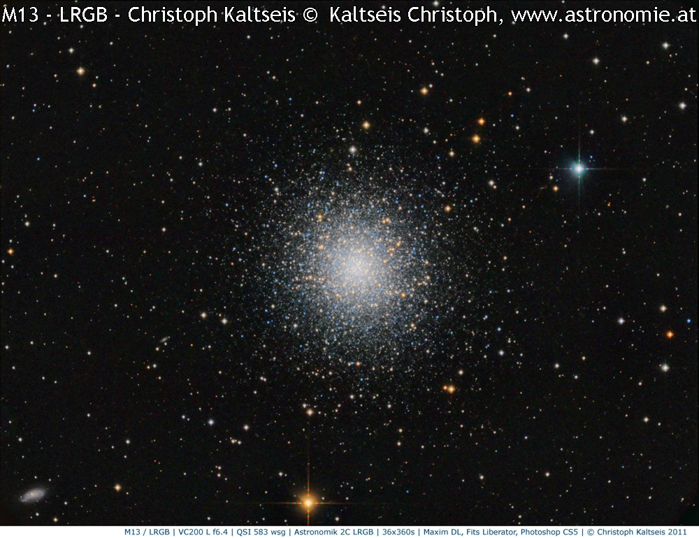 M-M13 in LRGB © image-owner(s)