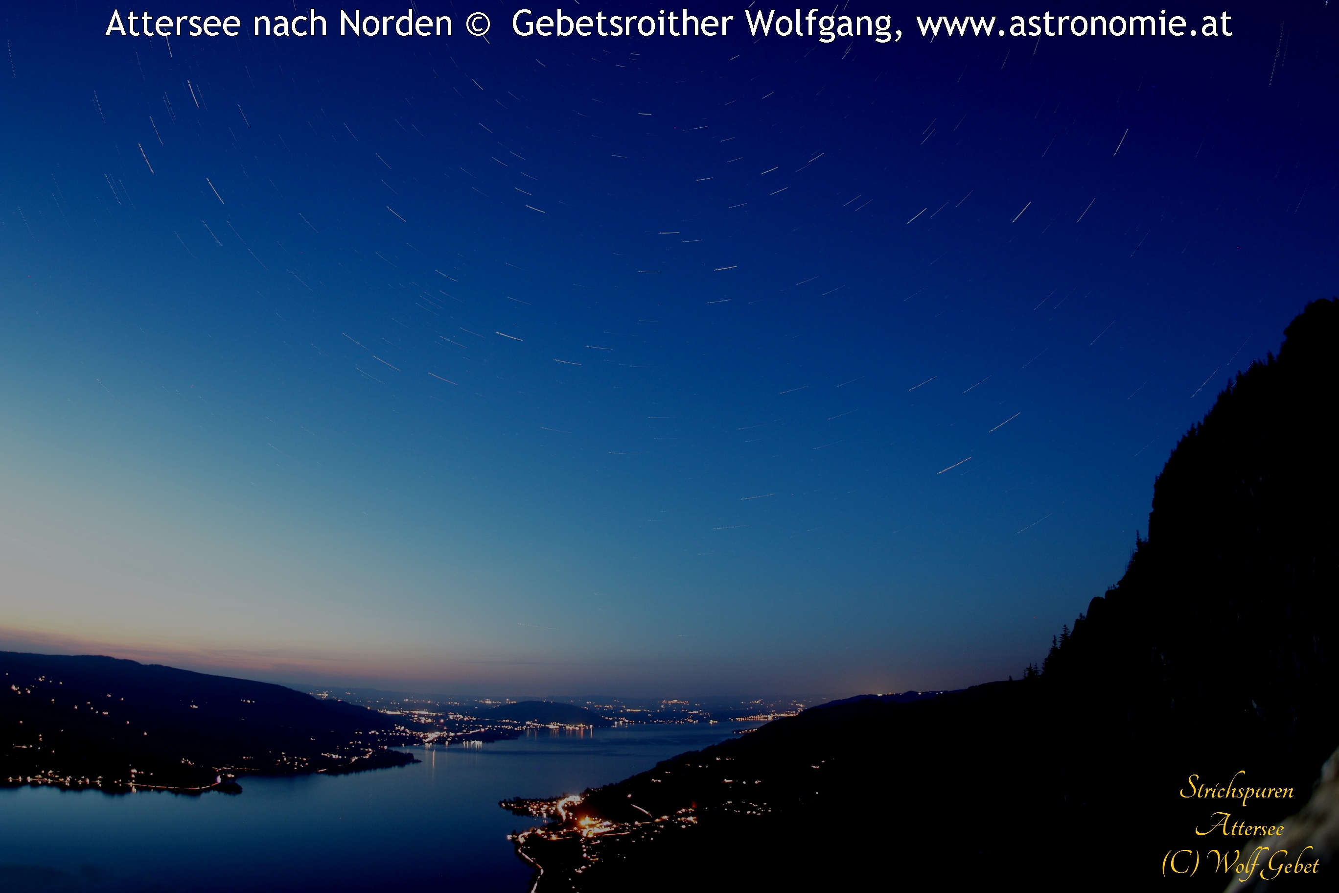 -Strichspur Attersee © image-owner(s)