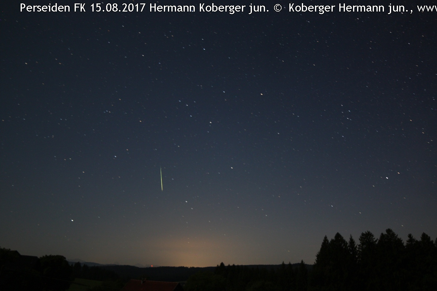 Solar System-Perseid FK 2017 © image-owner(s)