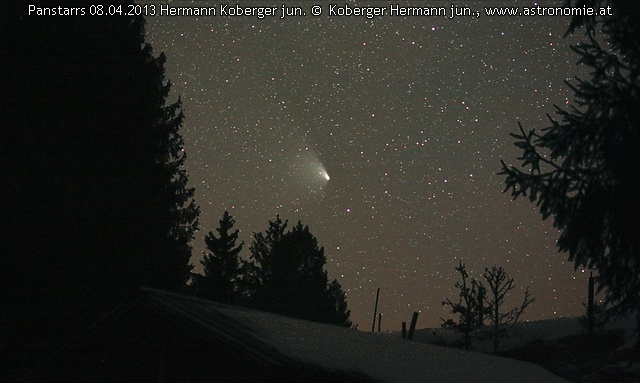Solar System Panstarrs08042013, Hits: 1432 © image-owner (scaled: 640x383)