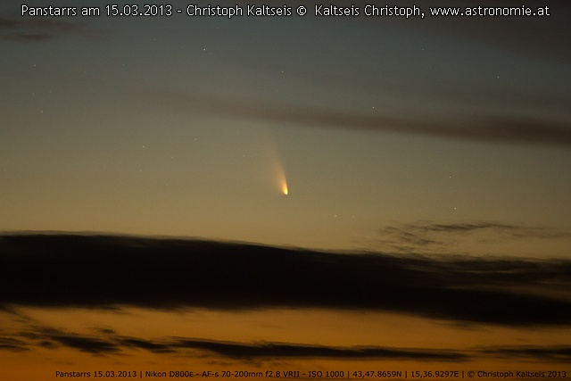 Solar System Panstarrs / 15032013, Hits: 1413 © image-owner (scaled: 640x427)