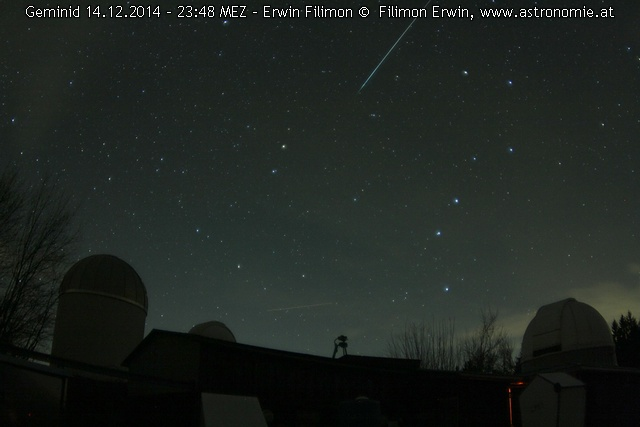 Geminid 14.12. 23:48, Hits: 1607 © image-owner (scaled: 640x427)