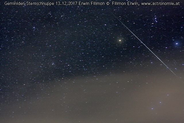 Geminid 13.12.2017, Hits: 1126 © image-owner (scaled: 640x427)