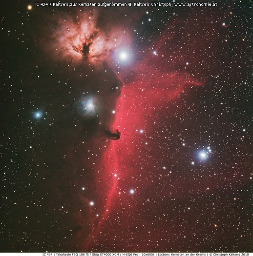 NGC-IC 434 im Orion © image-owner(s)