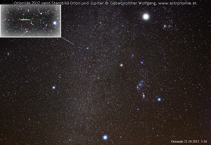 Solar System-Orionid 2012 © image-owner(s)