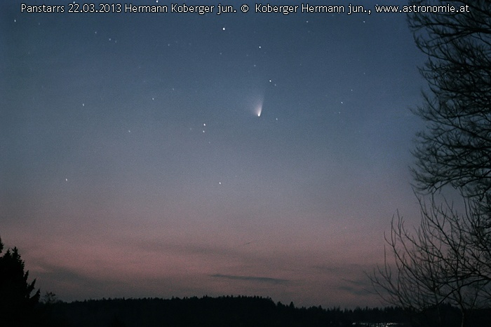 Solar System-Panstarrs-22032013 © image-owner(s)