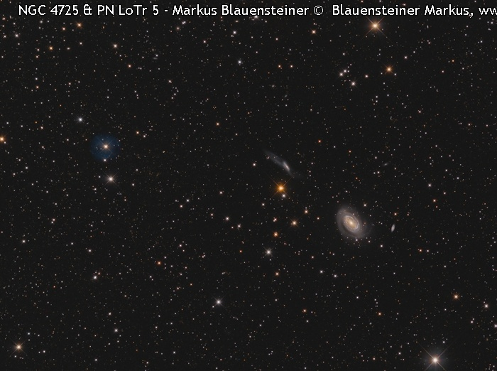 NGC-NGC 4725 und LoTr 5 © image-owner(s)